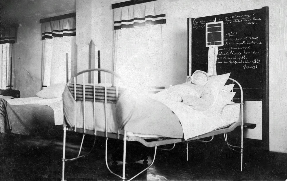 Demonstrationsstuen på Bispebjerg Hospital 1930