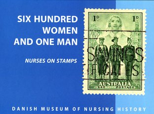 600 women and one man – nurses on stamps